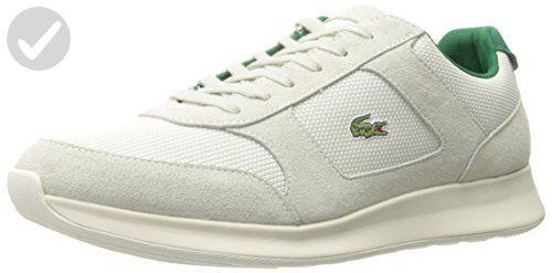 a6a815895efe7 Lacoste Men's Joggeur 117 1 Casual Shoe Fashion Sneaker, White, 12 M ...