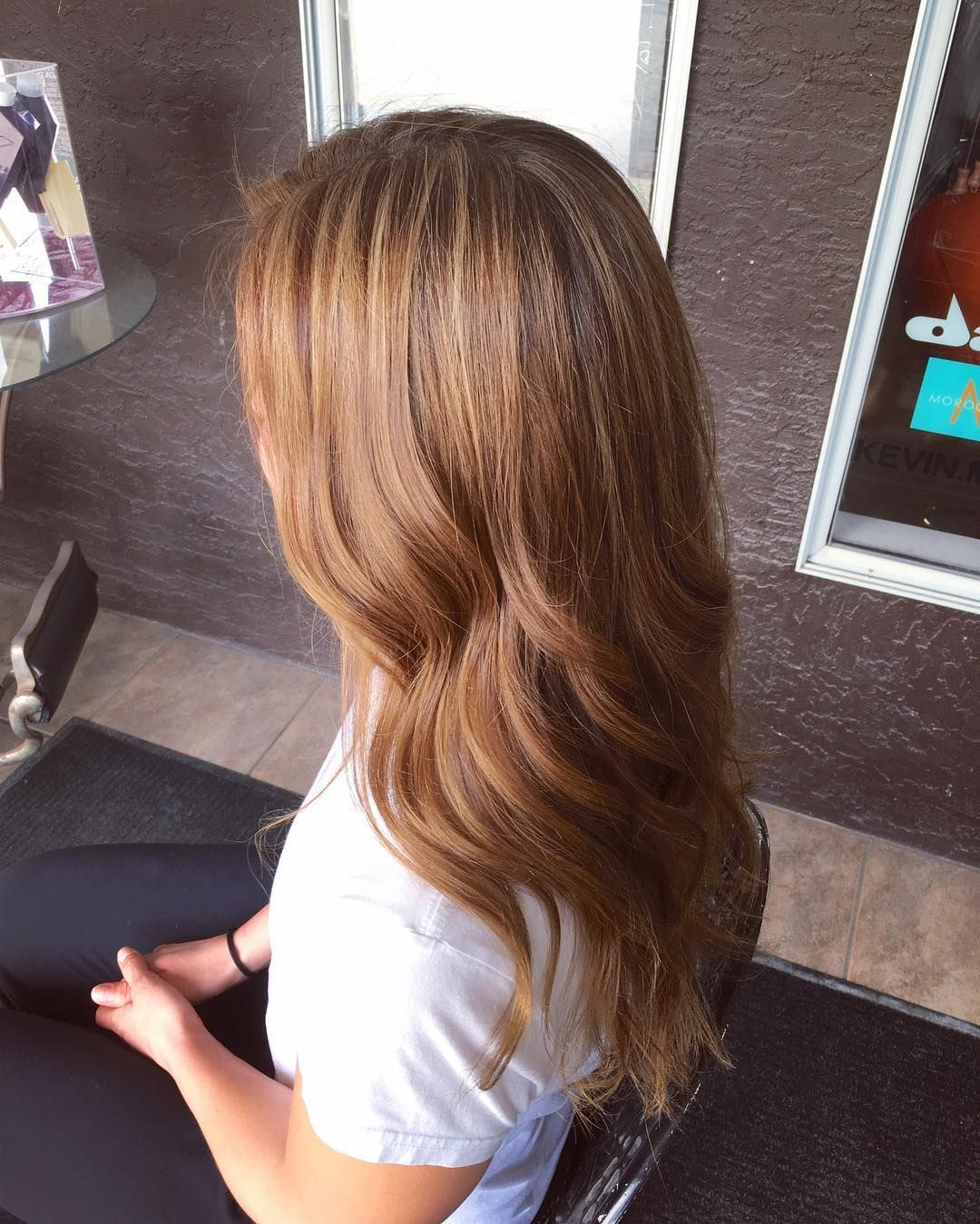 modern hairdos with caramel highlights u the tasty trend check
