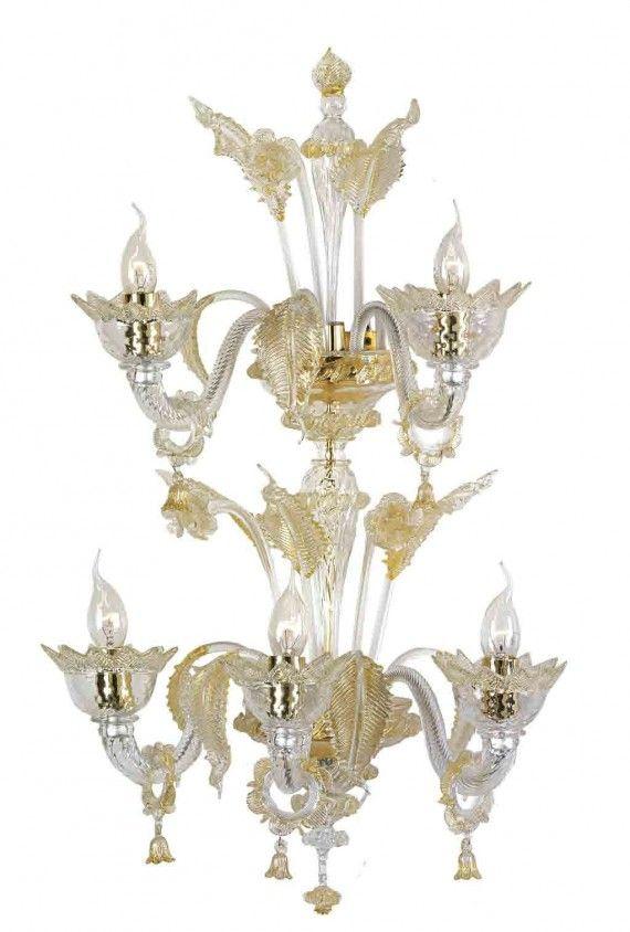 Murano Glass Chandelier 7467 Murano Glass Chandelier