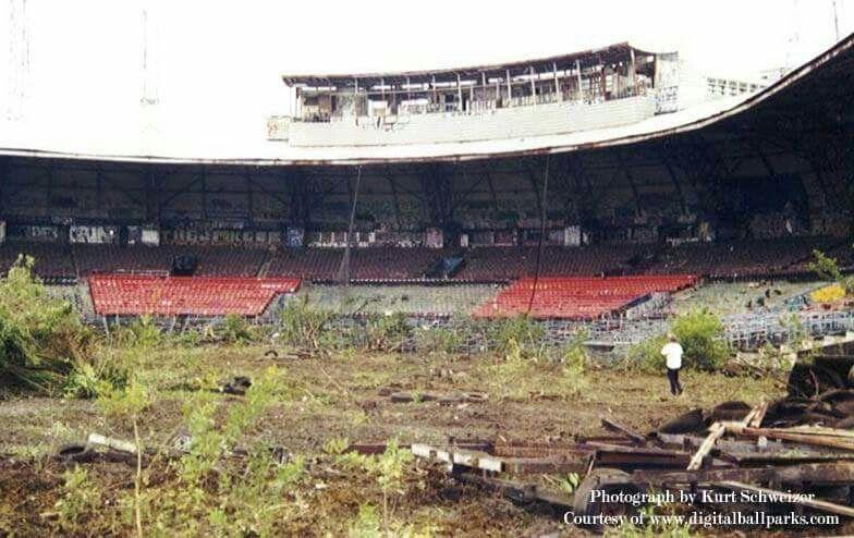 Demolition of miami stadium 2001 miami florida stadium