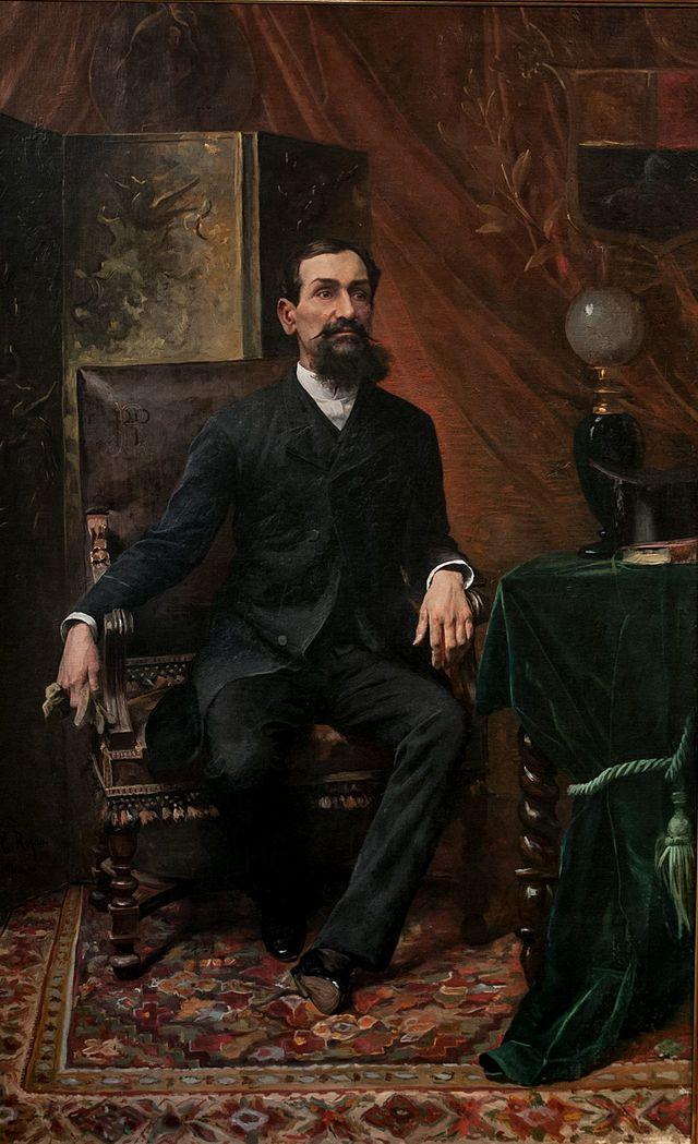 Retrato del Presidente Juan Pablo Rojas Paúl (1890) Cristóbal Rojas (Venezuela, 1850-1890)