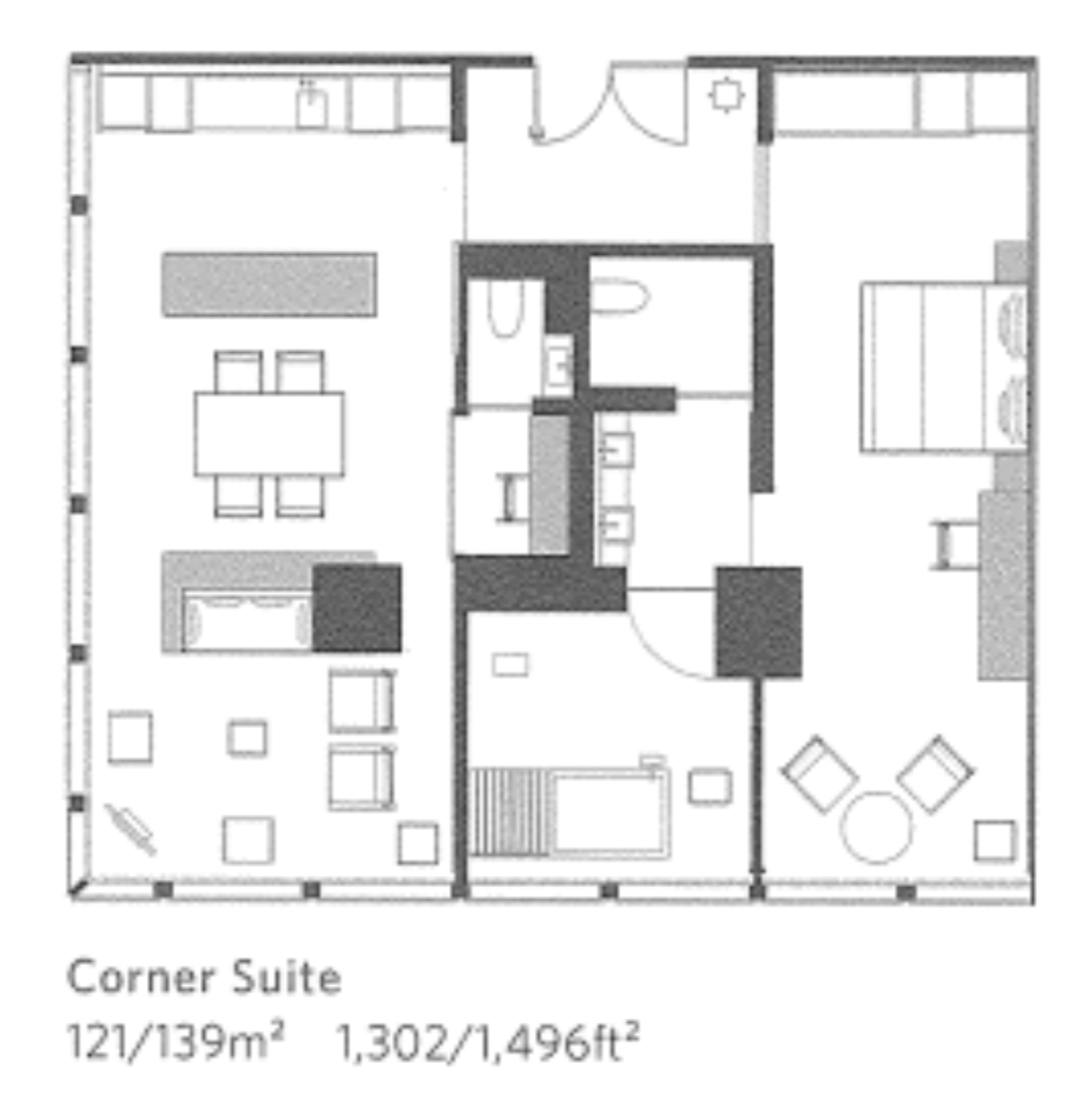Aman-Tokyo-東京安縵全景套房-Corner-Suite