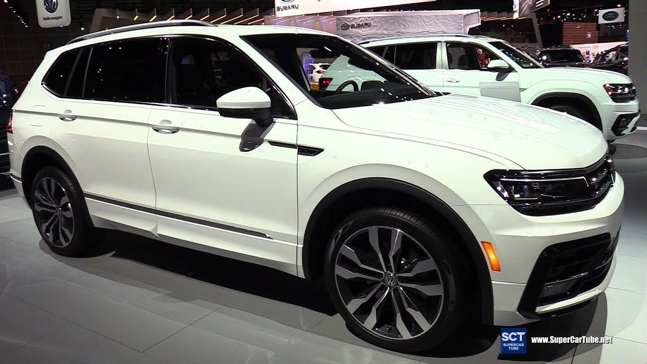 2018 Volkswagen Tiguan Tsi R Line Exterior And Interior Walkaround 2 Volkswagen Volkswagen Interior Volkswagen Car