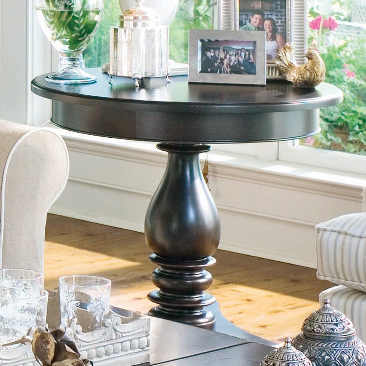 Paula Deen Home Round End Table Home Furniture Showroom House Ideas Gue