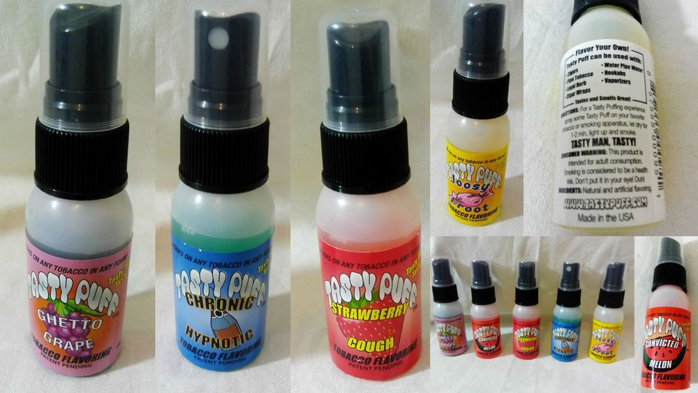 1oz tasty puff tobacco spray select flavour equivalent to