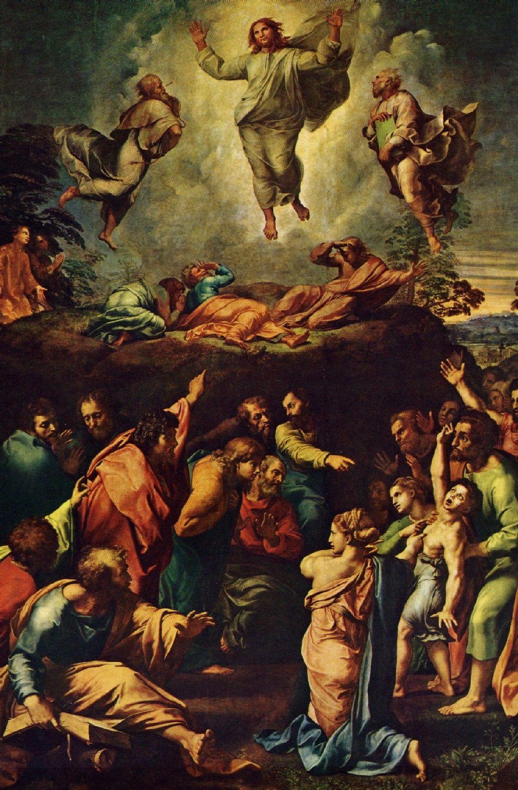 LA ASCENCIÓN DE NUESTRO SEÑOR JESUCRISTO Raphael