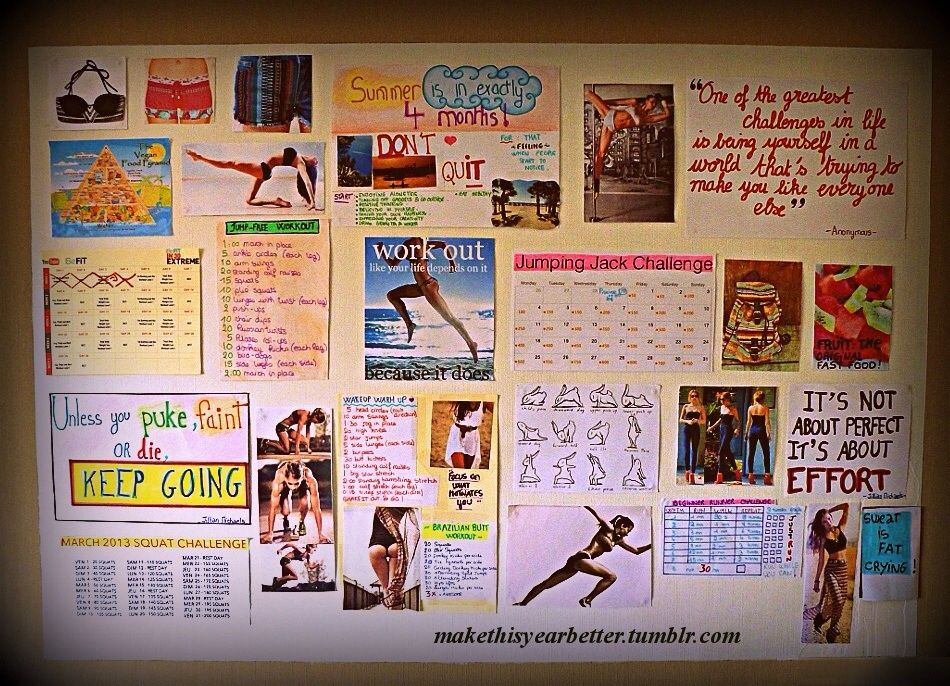 Motivation Wall Home Sweet Home Fitness Motivation