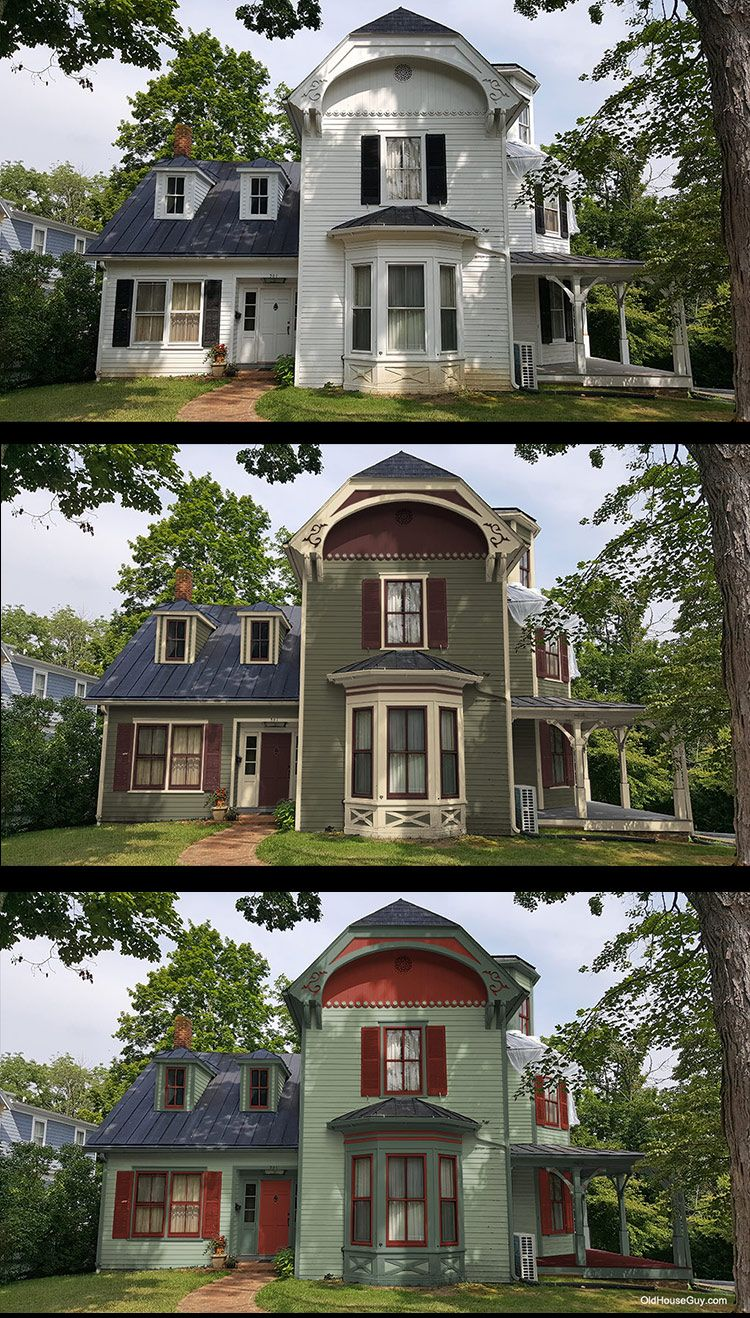 Rendering Of New Historic House Colors Victorian Homes Exterior Victorian House Colors Exterior House Colors