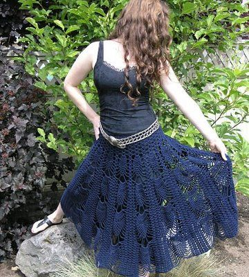 Womans Skirt Free Vintage Crochet Patterns Craft Ideas