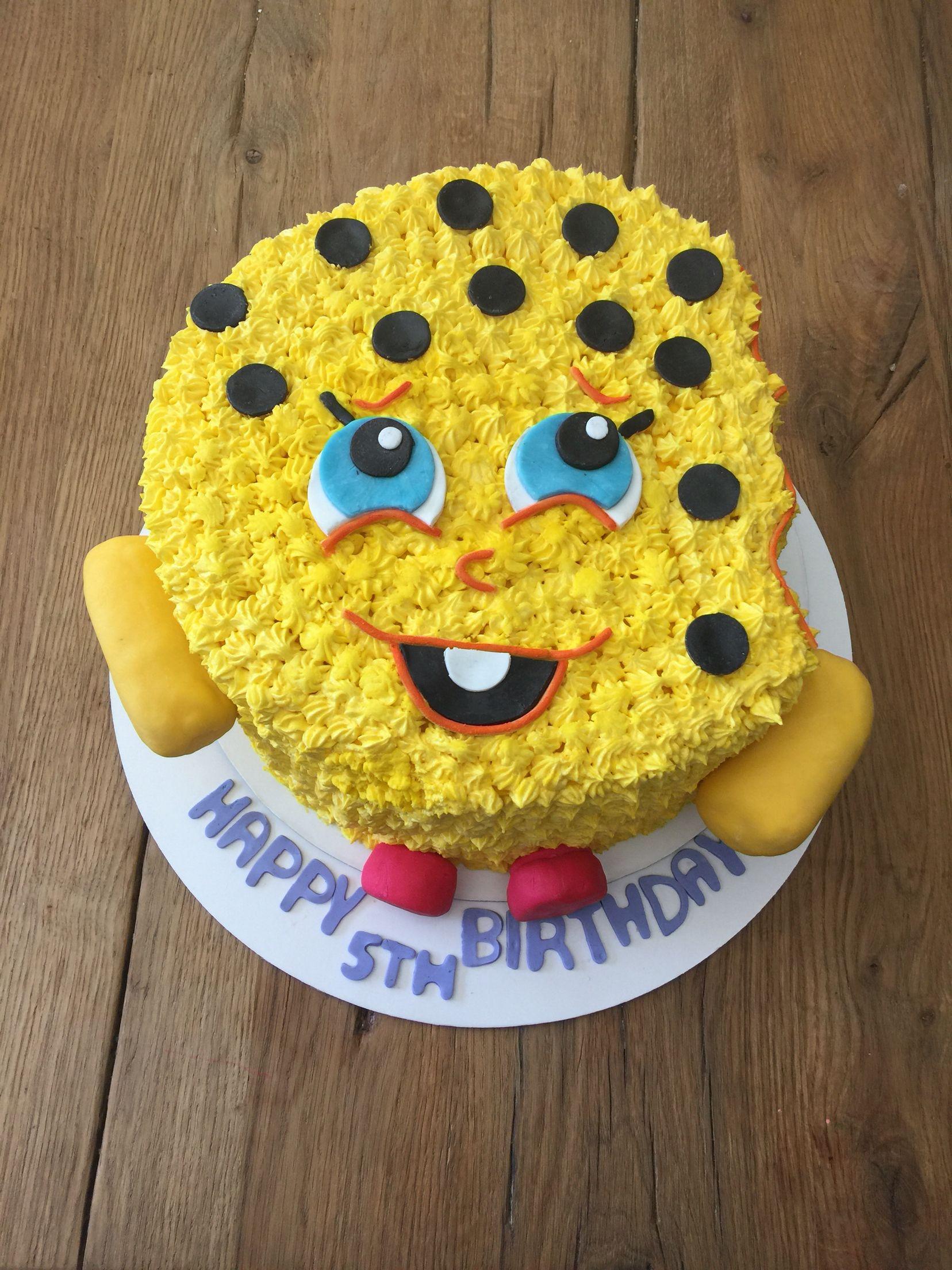 Shopkins Kookie Cookie Cake Decorated Cake Ideas