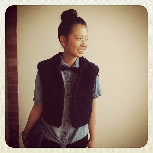 obsessed with this Wool and the Gang vest