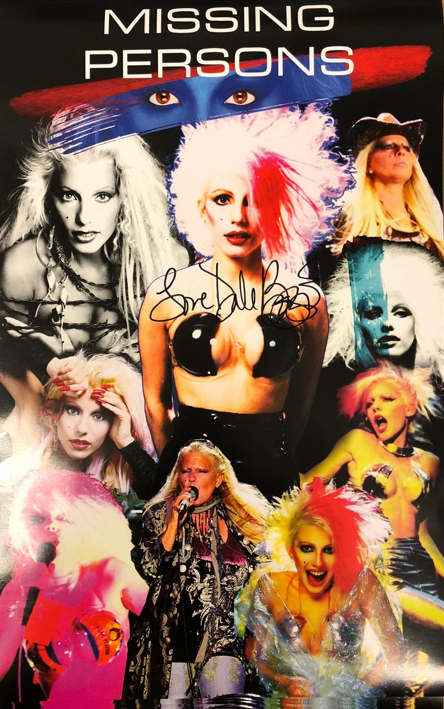 Dale Bozzio Icon Poster (Autographed) in 2020 New wave