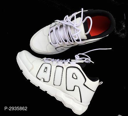 men's white pu casual sports shoes  sport shoes fashion