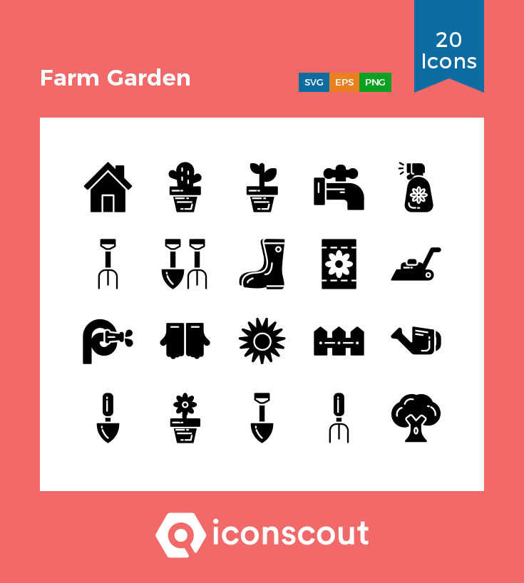 Download Farm Garden Icon Pack Available In Svg Png Eps Ai Icon Fonts Farm Gardens Icon Farm