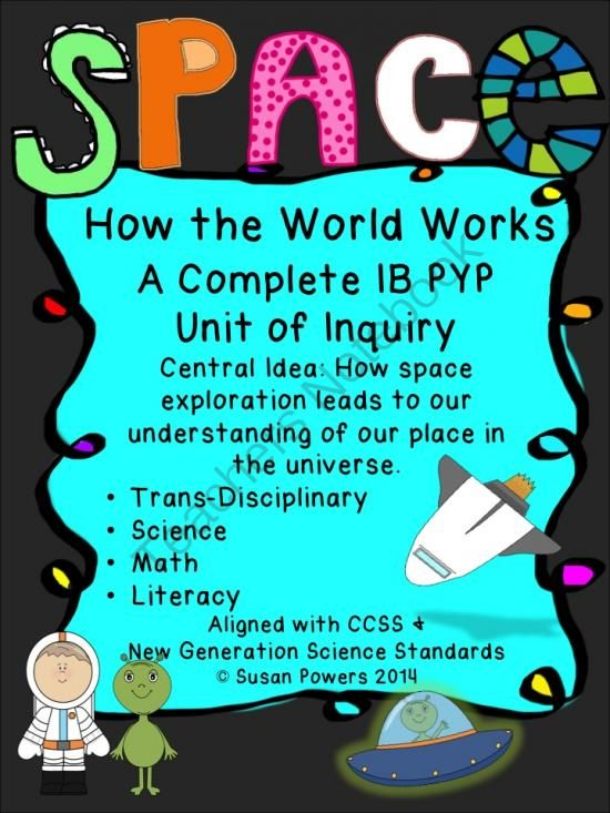 A Complete IB PYP Science Unit of Inquiry Space Exploration Past