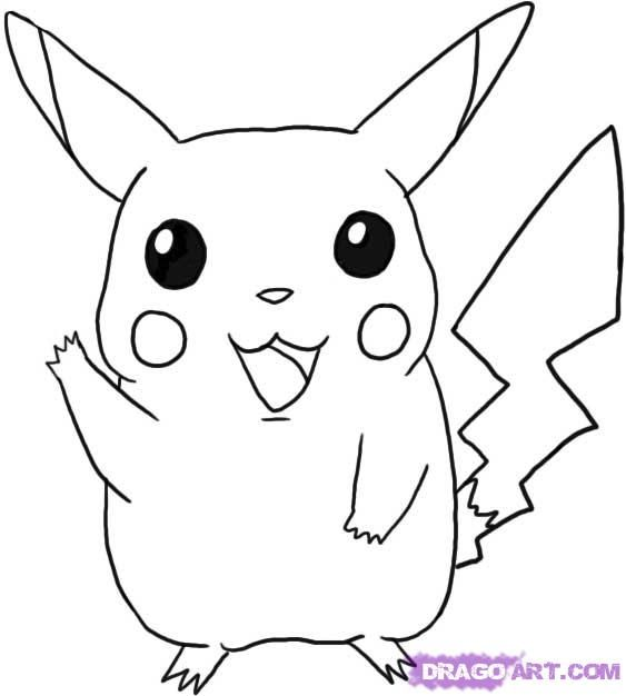 Pokemon Pikachu How To Draw Pikachu Step By Step Pokemon Characters Anime Draw Pokemon Coloring Pokemon Coloring Pages Pikachu