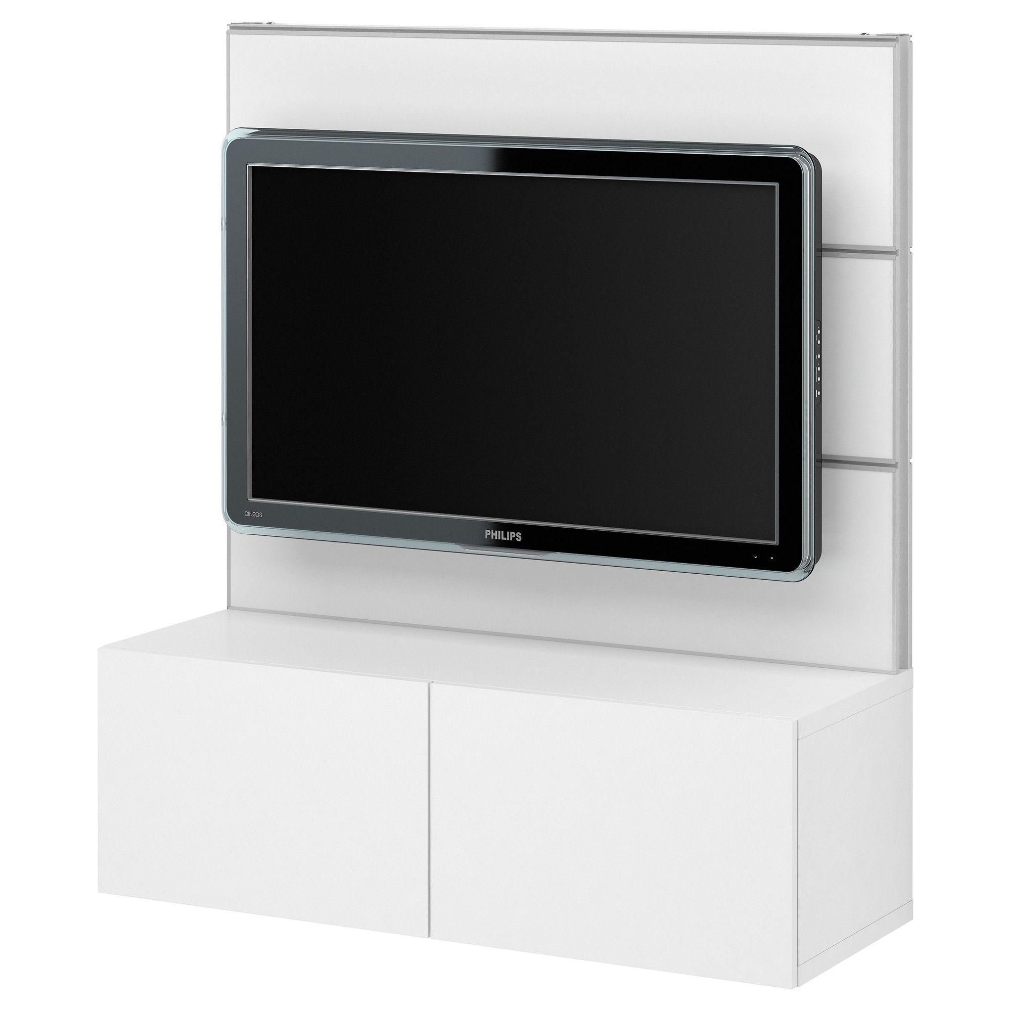 Best 197 Framst 197 Soluzione Tv Elemento Contenitore Bianco