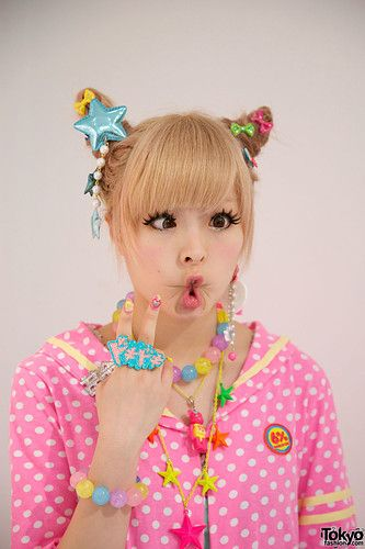 Kyary is a fellow weirdo. Thats why I like her, and of course my favorite song from her is Ponponpon, but the nightcore mix is SO GOOD! :D