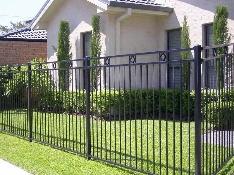 Minimalist Black Steel Fence House Fence Design Fence Design