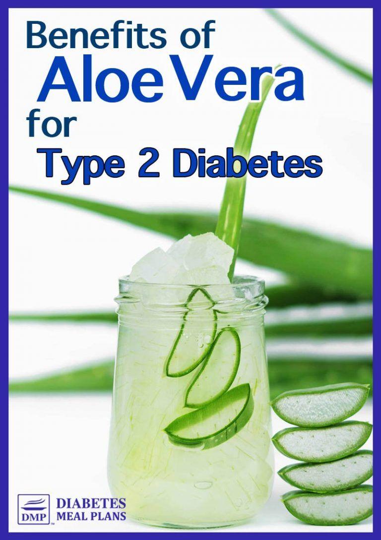 Tausendsassa Aloe vera bei Diabetes
