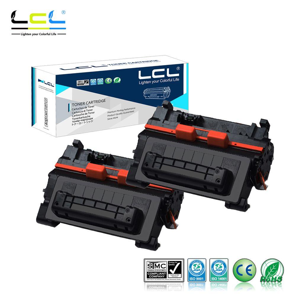 Lcl 90a Ce390a Ce390 A 390a 2 Pack Black Laser Toner Cartridge Hp 12a Laserjet Compatible