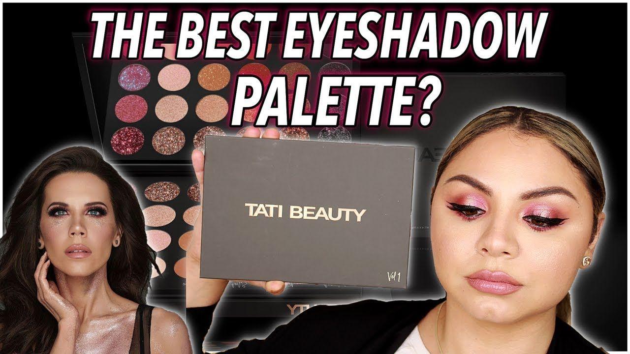 NEW TATI BEAUTY PALETTE REVIEW and SWATCHES! Tati Beauty