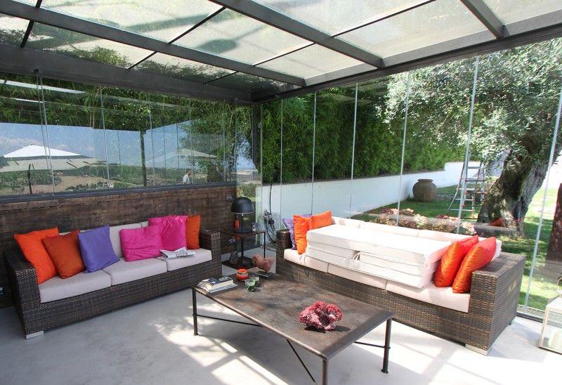 Le terrazze possono essere chiuse anche per finalità energetiche ...