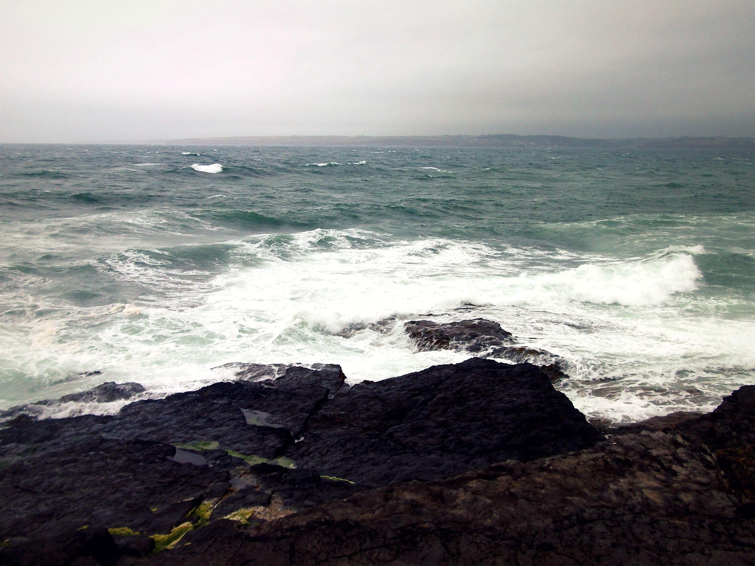 typical Irish coastline weather