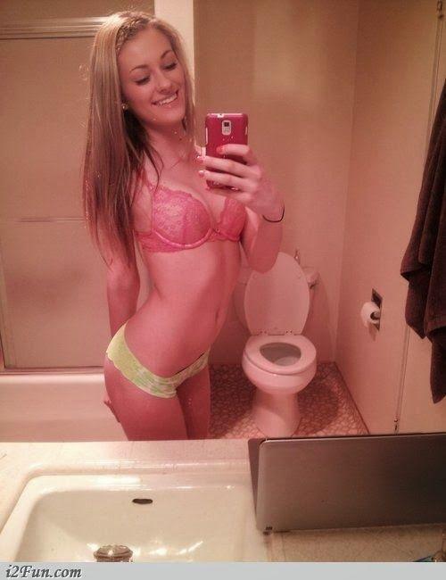 Girl stuck on dildo