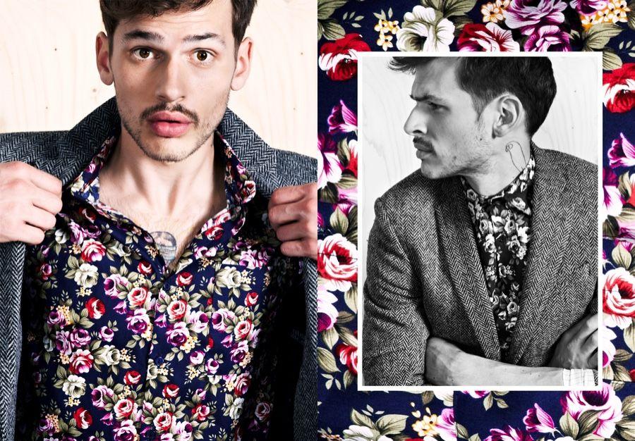 Exclusive: Sascha Weingarten Rocks Trendy Prints for Tomas Cervinka Shoot