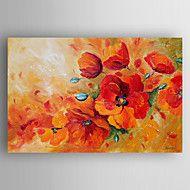 Ölgemälde+Blumen+handgemalte+Leinwand+mit+gestrec...+–+EUR+€+69.57
