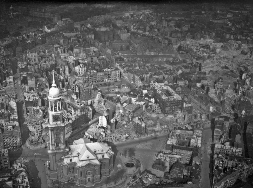 Historische Luftbilder Juwelen Vor Dem Feuersturm Luftbild Hamburg Geschichte Bilder
