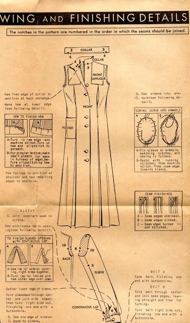 Unsung Sewing Patterns: McCall 603 - Ladies' and Misses' Smocks