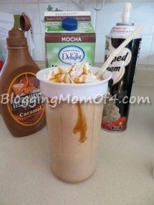 Homemade Caramel Frappe Recipe