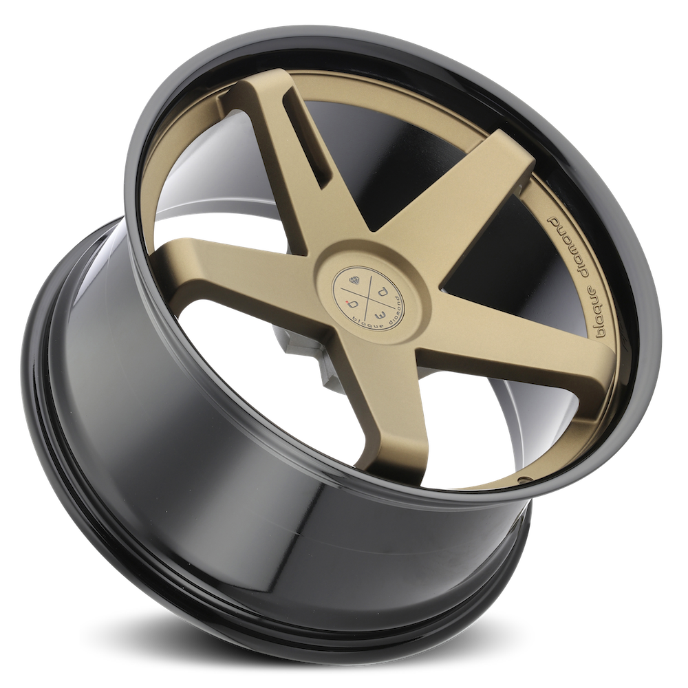 Blaque Diamond Wheel / Model BD-21 / Matte Bronze