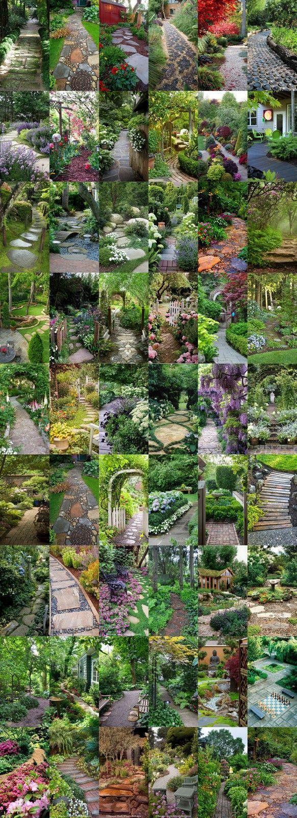 Veggie garden inspiration   Spectacular Garden Paths styleestate Garden ideas pation