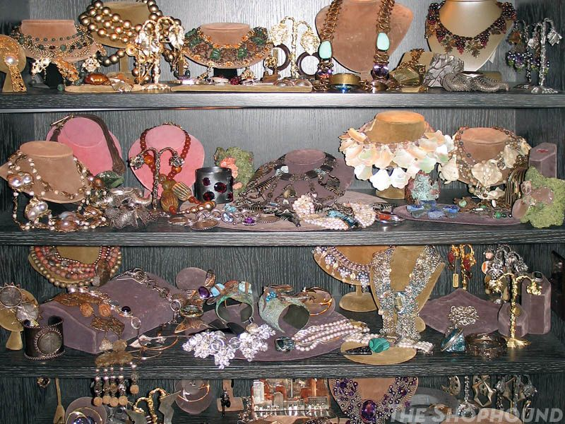 """Stephen Dweck has a """"cabinet of curiosities"""" where he keeps his most treasured pieces. Not even needing to mention what I would do to be able to poke around in there, I realize how well I know his work when I can easily identify the piece Drew Barrymore has worn, the SATC2 piece, etc. etc..."""
