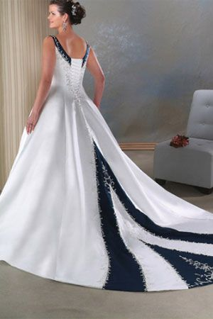 Plus Size Second Wedding Dresses | wedding-dresses-with-color-plus ...
