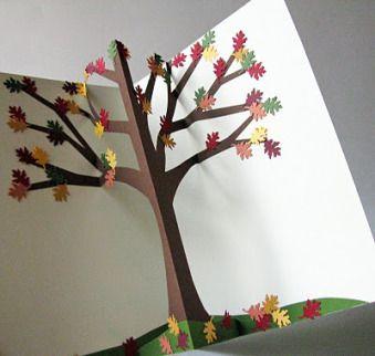 Pop Up Origami Tree Inspiration Pop Up Cards Pop Up Art Paper Pop