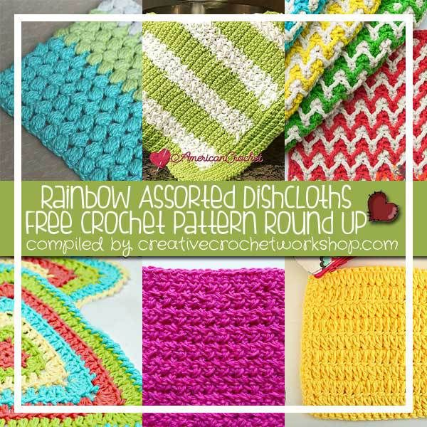 Rainbow Assorted Dishcloths | Telar y Puntadas