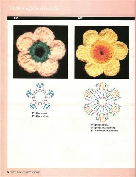 Flor em argola