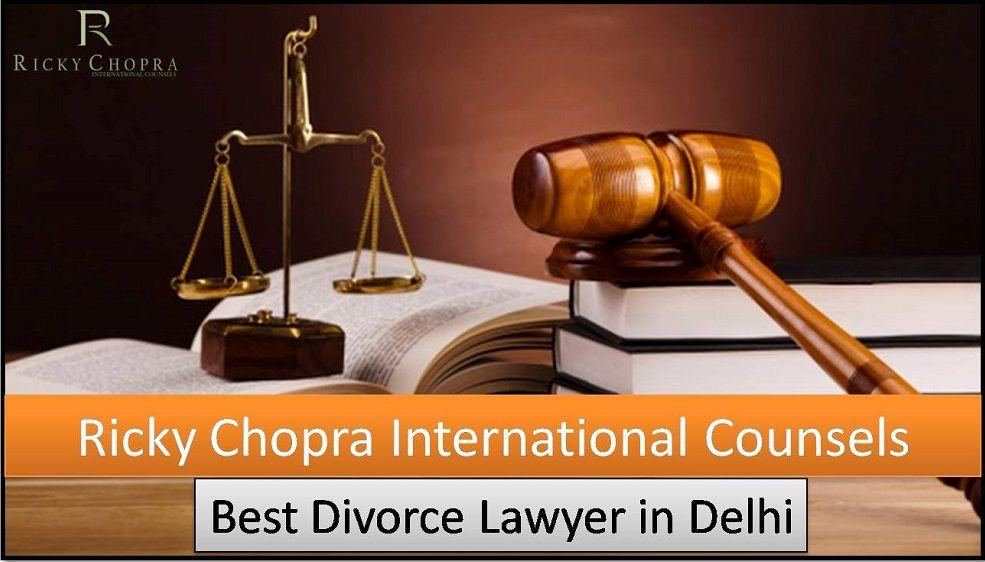 The Best Divorce Lawyer In Delhi Named Ricky Chopra International