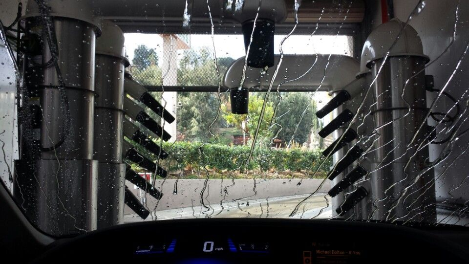 Easy to use and really well equipped express car wash