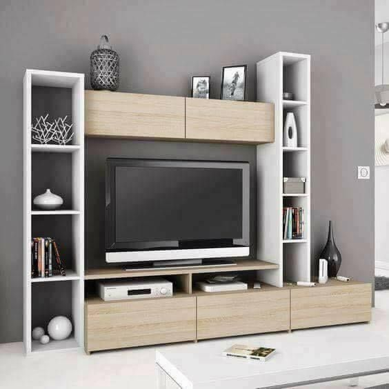 Image May Contain Indoor In 2020 Tv Unit Design Modern Tv