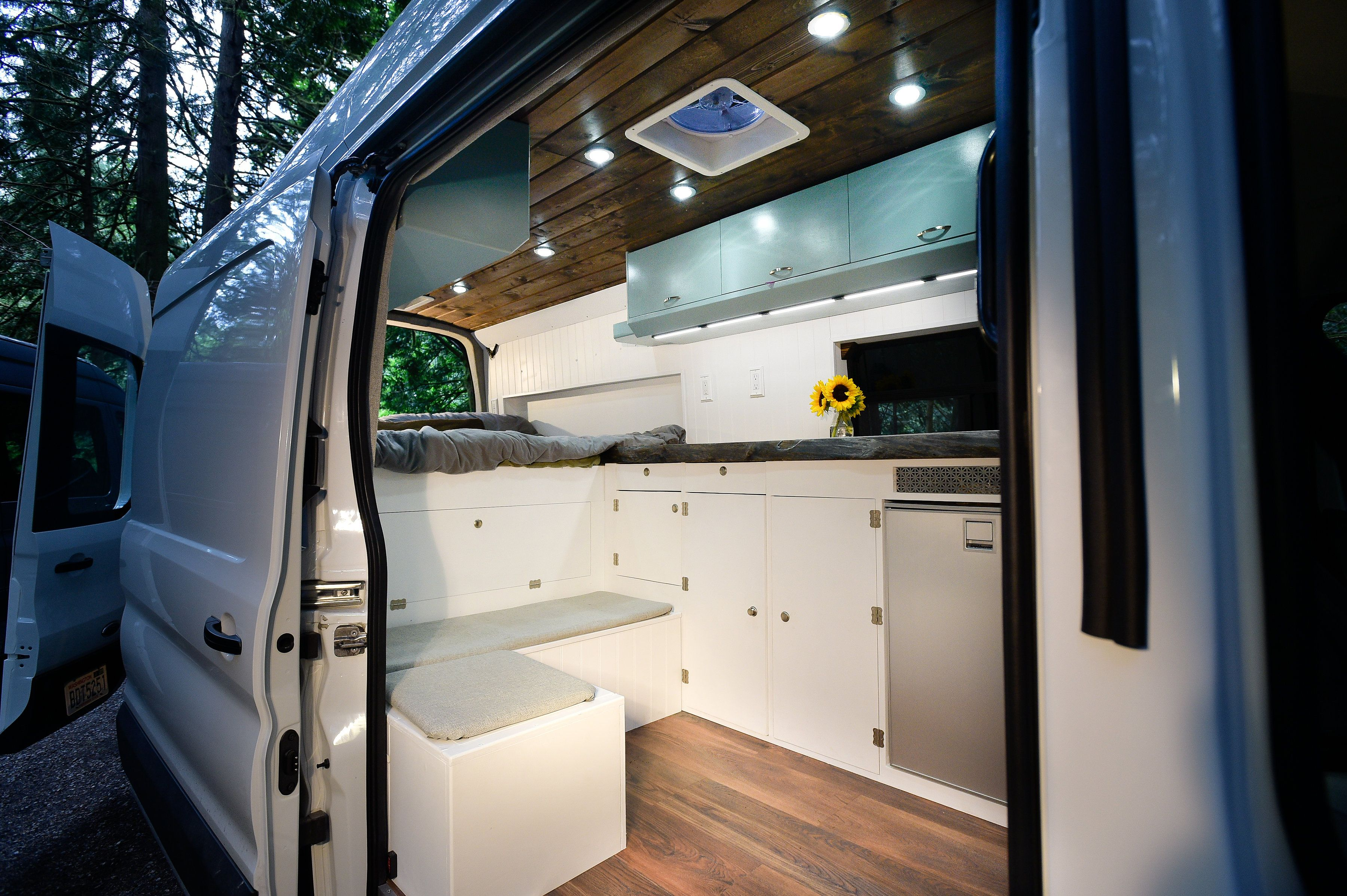 Playa Del Sol By Freedom Vans Ford Transit Conversion Van Conversion Tiny Living Space