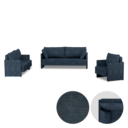 رجعت من جديد طقم الكنب لون كحلي فاخر Couch Sofa Decor Homedecor Home كنب اريكه كنبات ديكورات ديكور ابجوره ابجورات لم Kids Rugs Home Decor Decor