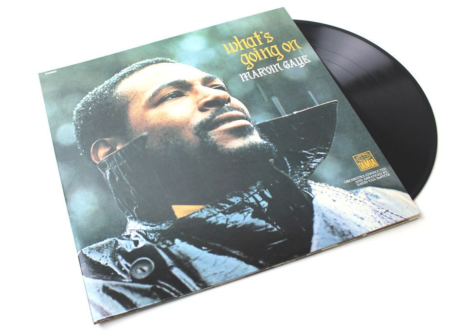 Marvin Gaye What S Going On Lp Marvin Gaye What Goes On Motown