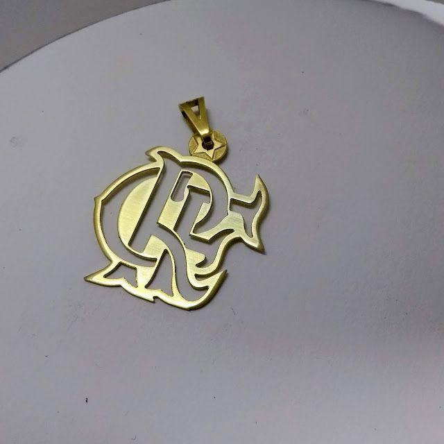 66973865ff2bb Pingente do Flamengo com Estrela do Mundial de 1981 ~ Pingentes  personalizados, jóias com a