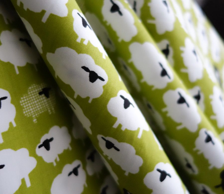 Bah Bah Black Sheep - Free Range - Monaluna Organic Fabric