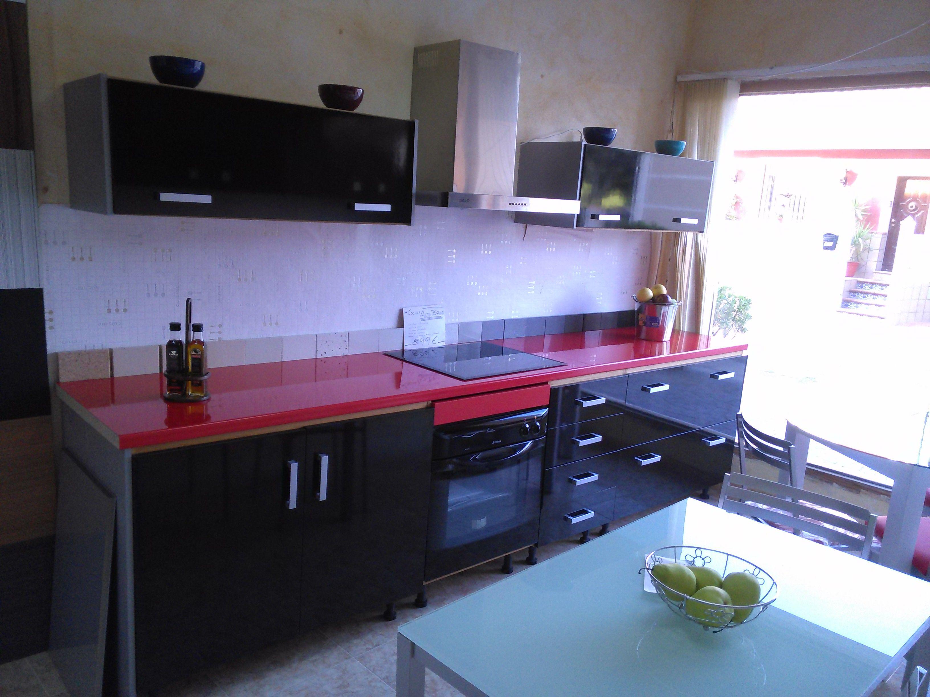 Cocina de exposici n 899 liquidaci n de exposici n - Liquidacion de muebles de cocina de exposicion ...